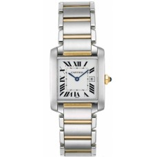 Cartier Tank Francaise Reloj W51012Q4