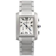 Cartier Tank Francaise hombres Reloj W51024Q3