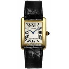 Cartier Tank Solo Cuarzo reloj de senora W5200002