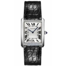 Cartier Tank Solo Cuarzo reloj de senora W5200005