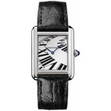 Cartier Tank Solo Cuarzo reloj de senora W5200018