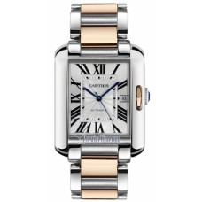 Cartier Tank Anglaise Large hombres Reloj W5310006