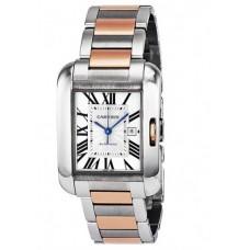 Cartier Tank Anglaise hombres Reloj W5310007