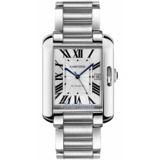 Cartier Tank Anglaise Large hombres Reloj W5310008
