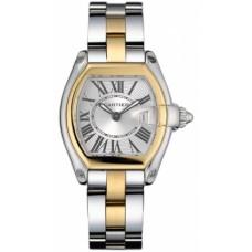 Cartier Roadster reloj de senora W62026Y4