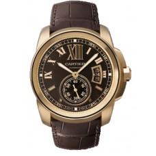 Calibre De Cartier hombres Reloj W7100007