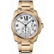 Calibre De Cartier hombres Reloj W7100018