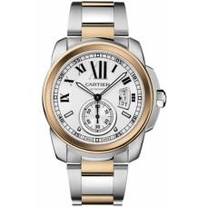 Calibre De Cartier hombres Reloj W7100036