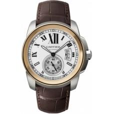 Calibre De Cartier hombres Reloj W7100039
