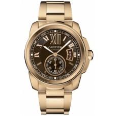 Calibre De Cartier Chronograph hombres Reloj W7100040