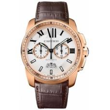 Calibre De Cartier Chronograph hombres Reloj W7100044