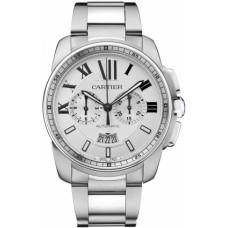 Calibre De Cartier Chronograph hombres Reloj W7100045