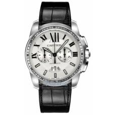 Calibre De Cartier Chronograph hombres Reloj W7100046
