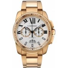 Calibre De Cartier Chronograph hombres Reloj W7100047