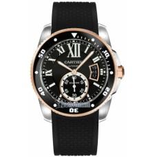 Calibre De Cartier Diver hombres Reloj W7100055