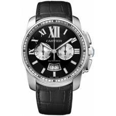 Calibre De Cartier Chronograph hombres Reloj W7100060