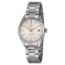 Réplicas Tag Heuer Carrera Plata Dial Reloj de mujer WAR1312.BA0778