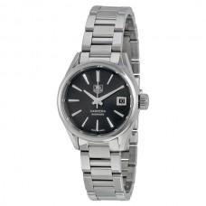 Réplicas Tag Heuer Carrera Automatico Dial Negro Reloj de mujer WAR2410.BA0776