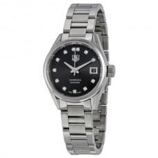 Réplicas Tag Heuer Carrera Automatico Dial Negro Reloj de mujer WAR2413.BA0776