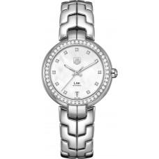 Tag Heuer Link Senoras Diamante dial Diamante Bezel34.5 mm