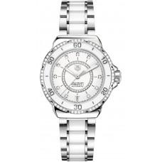 Tag Heuer Formula 1 Acero y Ceramico Diamantes automatico replicas de reloj 37 mm