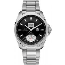 TAG Heuer Gry CarreraCalibre 8 RS Grye Date y GMT automatico replicas de reloj