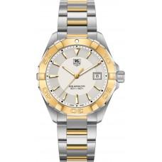 Réplicas Tag Heuer Aquaracer Plata Dial Oro amarillo de 18kt WAY1151.BD0912