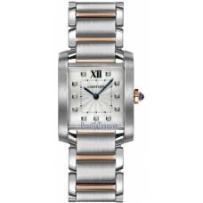 Cartier Tank Francaise reloj de senora WE110005