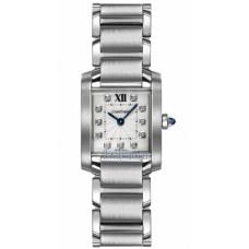 Cartier Tank Francaise reloj de senora WE110006