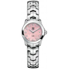 Tag Heuer Link Diamante Pink Mother-of-Pearl Senoras replicas de reloj
