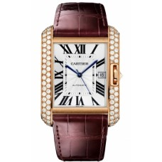Cartier Tank Anglaise Large hombres Reloj WT100021