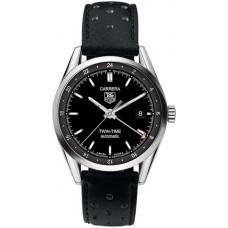 Tag Heuer Carrera Twin Time hombres replicas de reloj