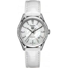 TAG Heuer Carrera Mother-Of-Pearl Dial Diamante replicas de reloj