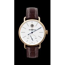 Reloj de pulsera Bell & Ross WW1 HEURE SAUTANTE ROSE GOLD