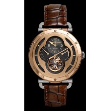 Bell & Ross WW2 MILITAR TOURBILLON ROSE GOLD reloj de Réplicas