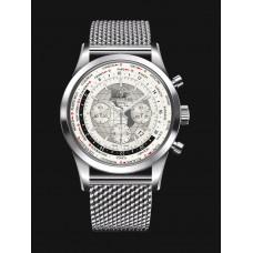 Réplicas Breitling Transocean Cronografo Unitime AB0510U0/A790/152A Acero inoxidables