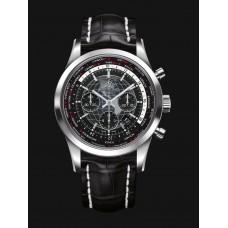 Réplicas Breitling Transocean Cronografo Unitime Negro AB0510U4/BE84/760P/A20BA.1s
