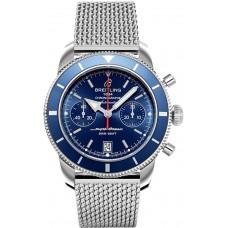 Réplicas Breitling Superocean Heritage Automatico azul Dial hombres A2337016/C856/154As