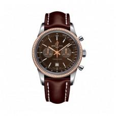 Réplicas Breitling Transocean Cronografo 38 Oro rosa U4131053/Q600/431X/A18BA.1s