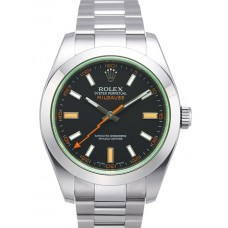 Rolex Milgauss reloj de replicas 116400 GV