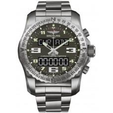 Réplicas Breitling Professional Cuarzo Titanio Gris Dial hombres EB5010B1/M532/176Es