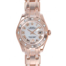 Rolex Lady-Datejust Pearlmaster reloj de replicas 80315-3