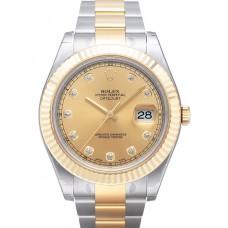 Rolex Datejust II reloj de replicas 116333-4