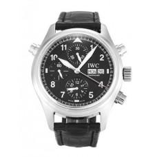 Réplicas IWC Pilots doble cronógrafo Spitfire para hombre reloj IW371333