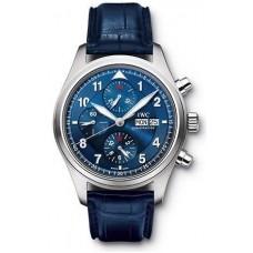 Réplicas IWC Pilots Chrono-Automatic Edition Reloj IW371712