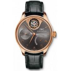 Réplicas IWC Portuguese Tourbillon Mystere Edición limitada reloj para hombre IW504210