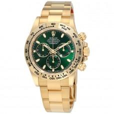 Réplicas Rolex Cosmograph Daytona 116508BKMDO negro madre de la perla Dial 18K oro amarillo reloj