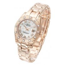 Rolex Lady-Datejust Pearlmaster reloj de replicas 80315-1
