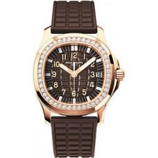 Patek Philippe Aquanaut Luce 18kt Oro rosa Diamante Automatico Senoras Reloj 5068R