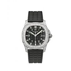 Patek Philippe Aquanaut Luce Haute Joaillerie Mysterious negro Senoras Reloj 5069G